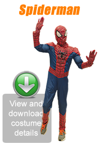 Create Your Look - Spiderman