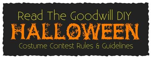 Goodwill's DIY Halloween Costume Contest Rules & Guidelines