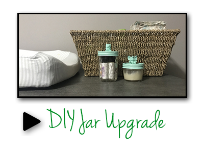 DIY Projects for Earth Month - Jar Upgrade
