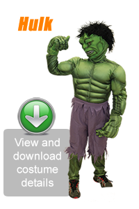 Create Your Look - Hulk
