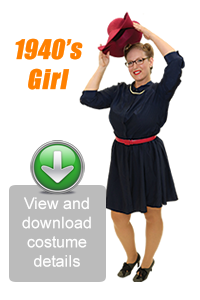 Create Your Look - 1940's Girl