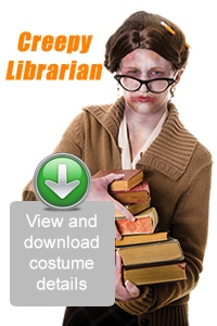 Create Your Look - Creepy Librarian