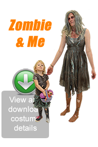 Create Your Look - Zombie & Me