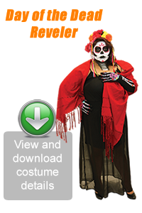 Create Your Look - Day of the Dead Reveler