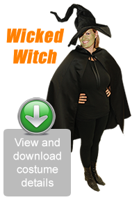 Create Your Look - Wicked Witch