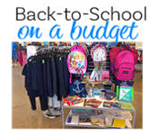 Back-to-School On a Budget