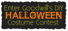Enter Goodwill's DIY Halloween Costume Contest