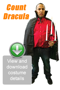 Create Your Look - Count Dracula
