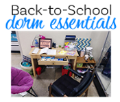 Back-to-School Dorm Essentials