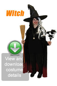 Create Your Look - Classic Witch