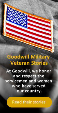 Goodwill Military Veteran Success Stories
