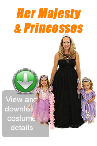 Create Your Look - Her Majesty & Princesses