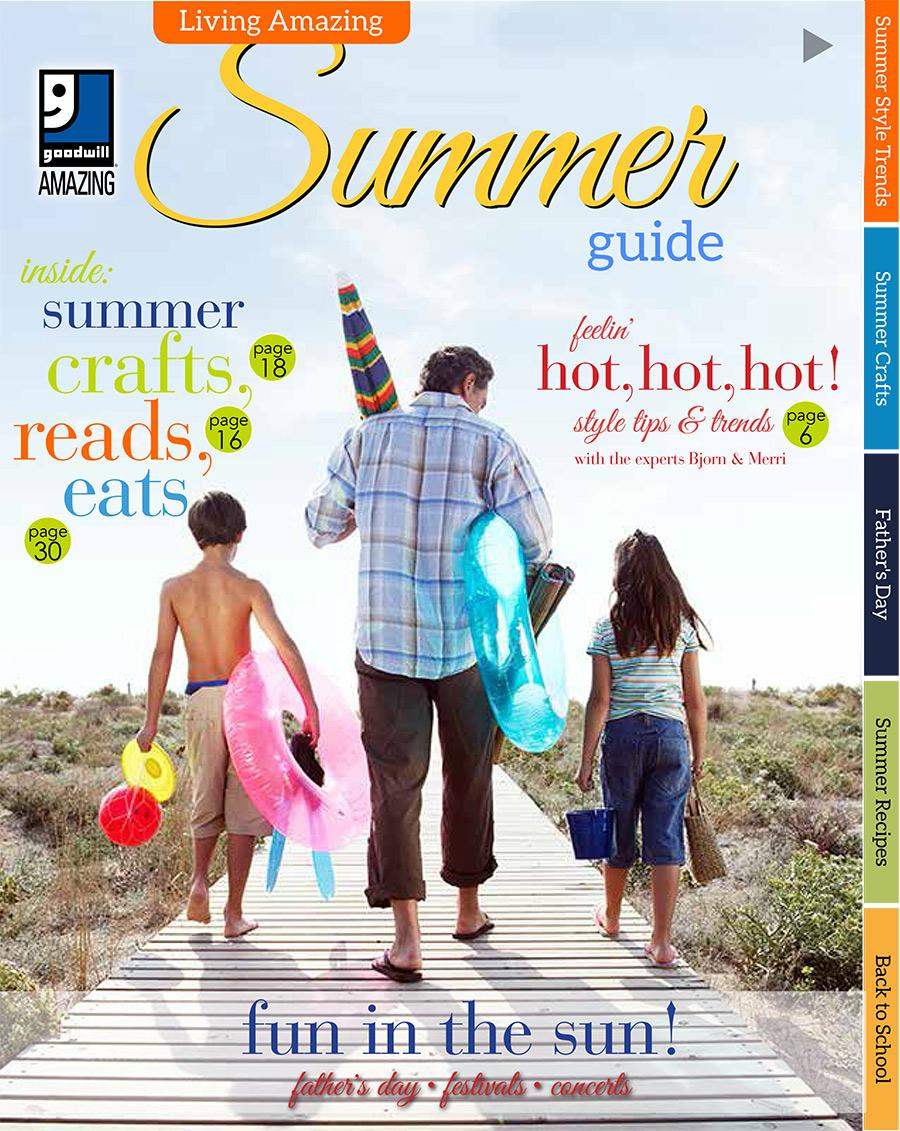 Living Amazing Summer Guide 2016