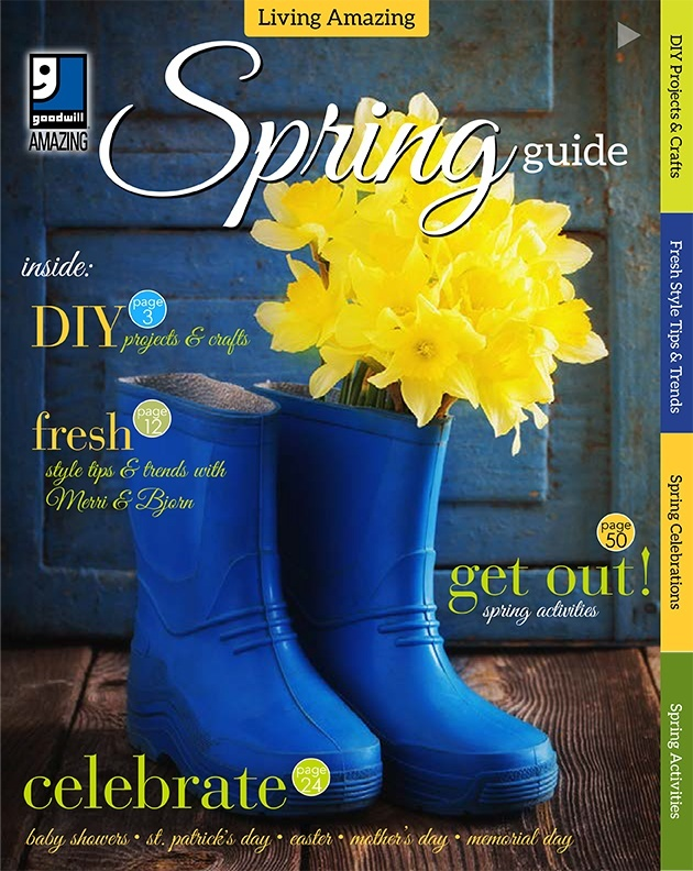 Goodwill's Living Amazing Spring Guide 2017