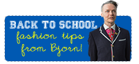 Back to School Fashion Tips from Bjorn