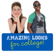 Amazing looks for college