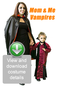 Create Your Look - Mom & Me Vampire