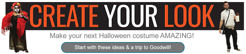 Create Your Halloween Look at Goodwill