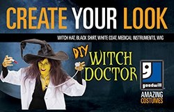 Create Your Look - Witch Doctor
