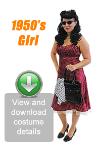 Create Your Look - 1950's Girl