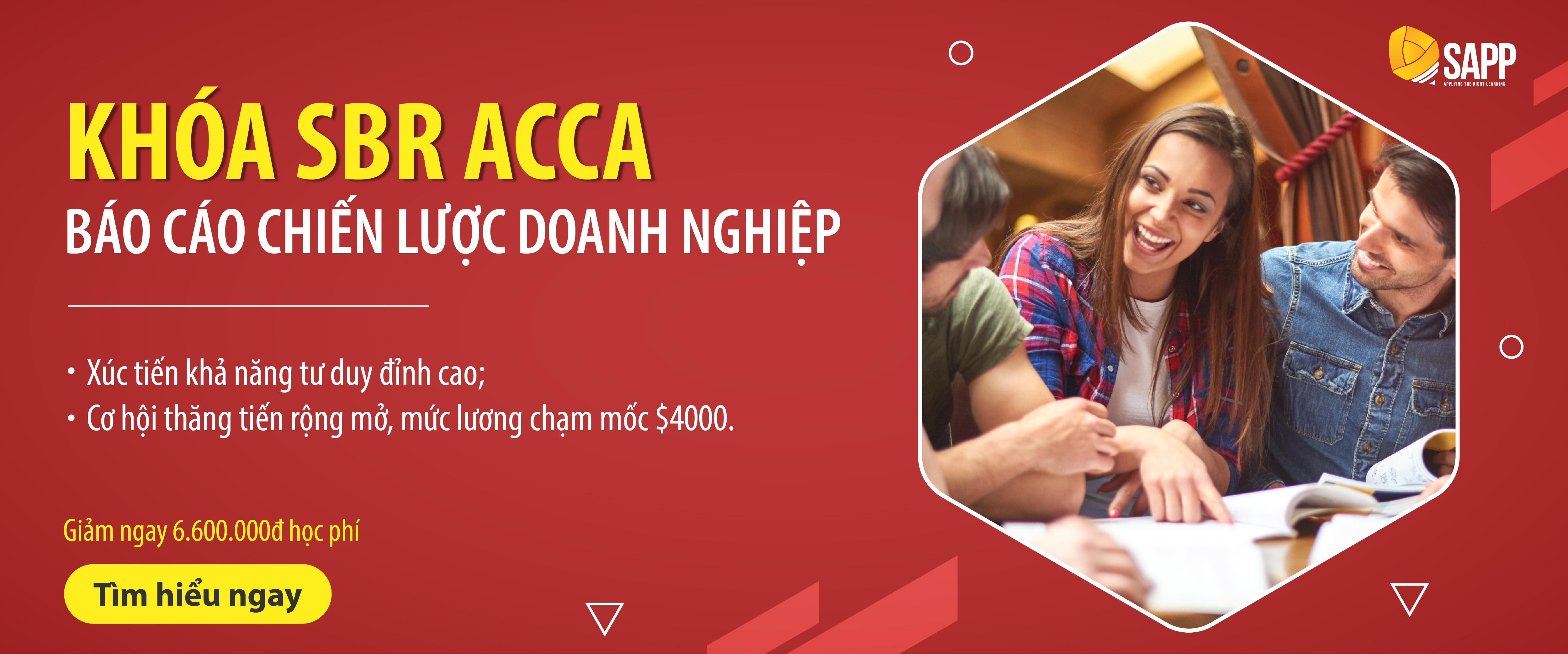 đăng ký tư vấn khóa SBR ACCA