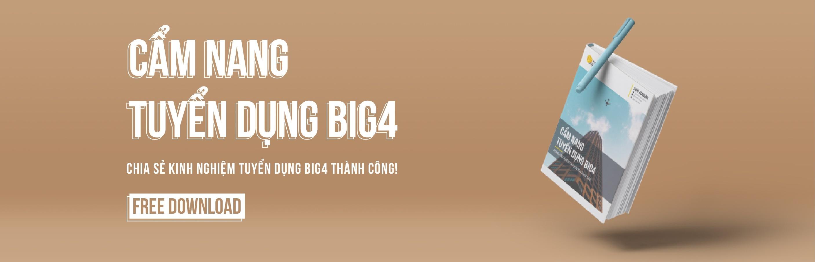 Free Download Cẩm Nang Tuyển Dụng BIG4 Version 5.0