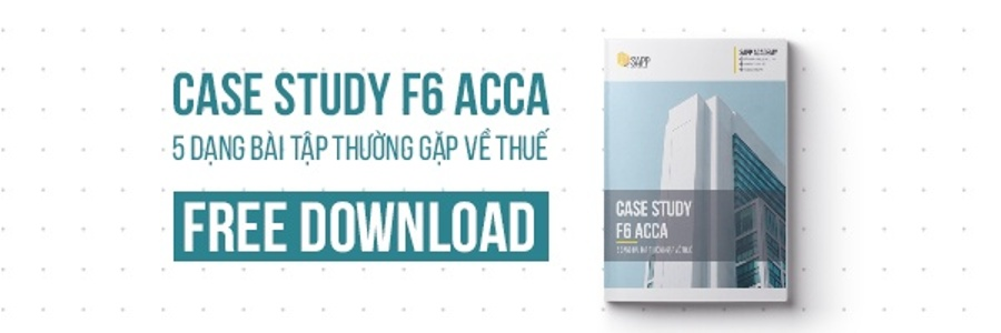 Case Study F6 ACCA