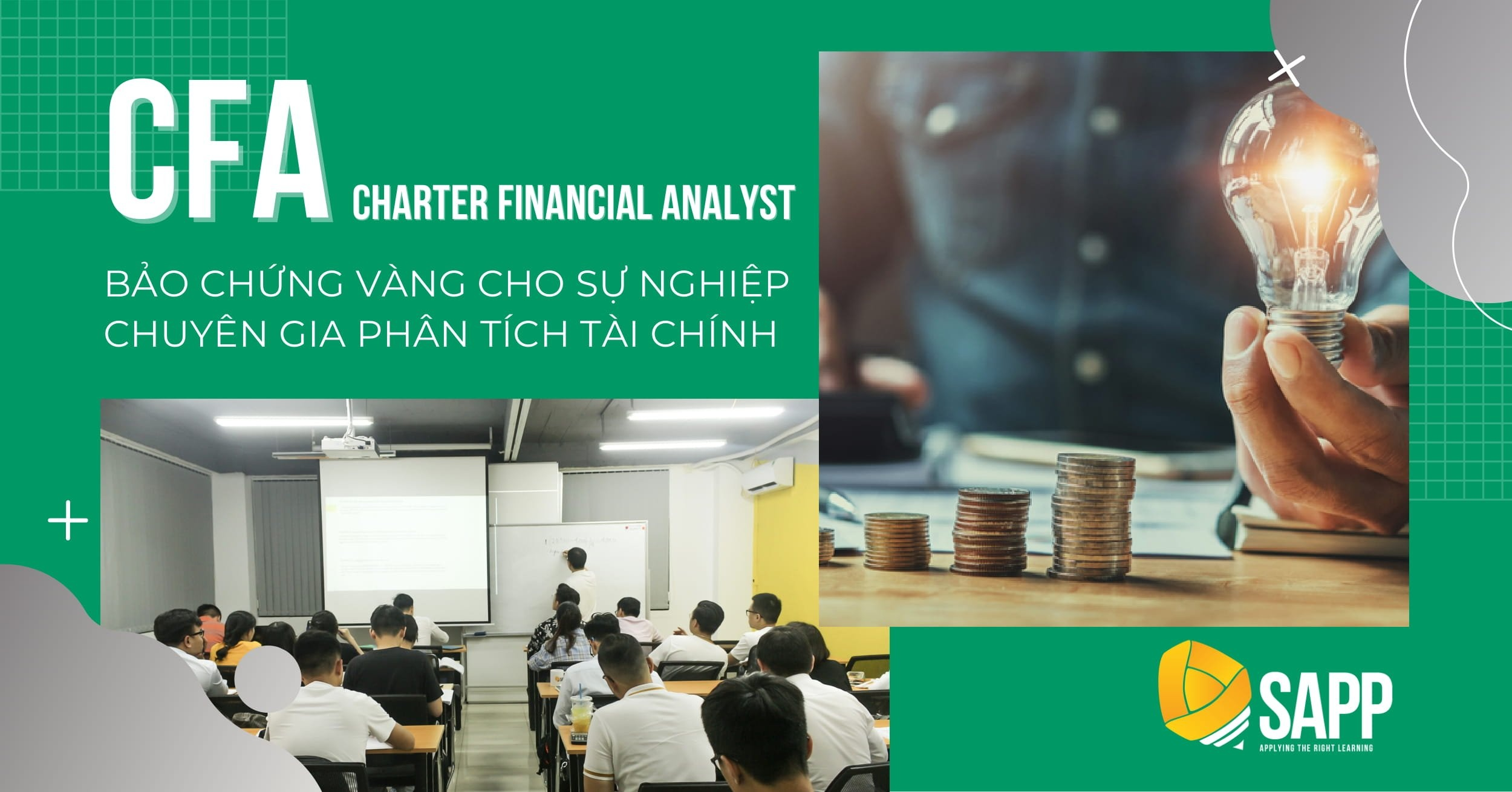 Khóa học CFA - Chartered Financial Analyst - SAPP Academy