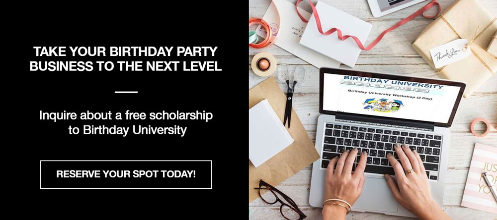 free scholarships to Birthday University