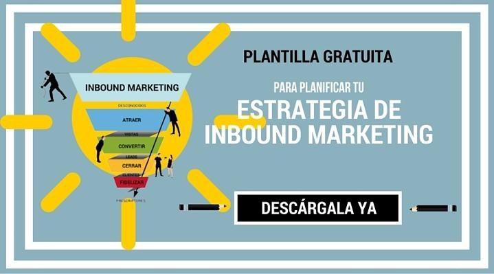 plantilla inbound marketing