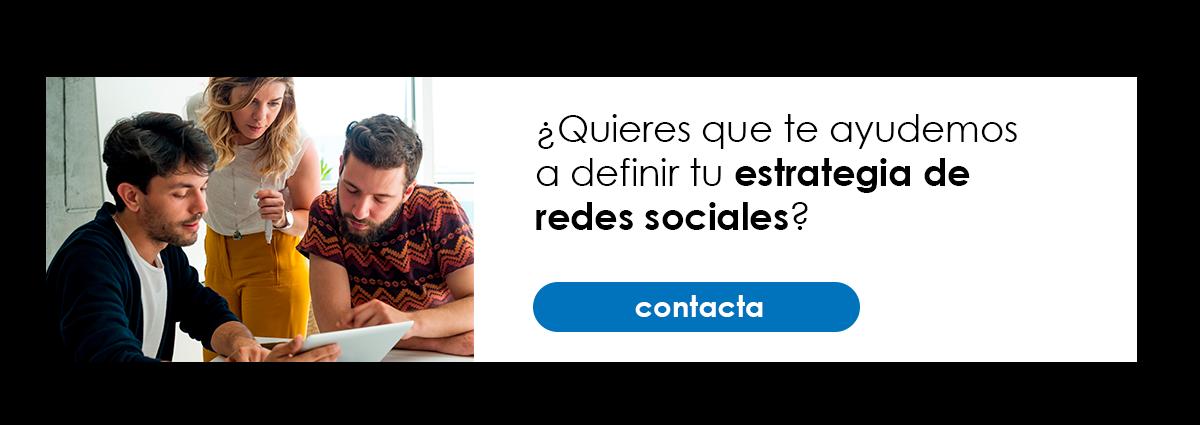 Te ayudamos en tu estrategia de redes sociales