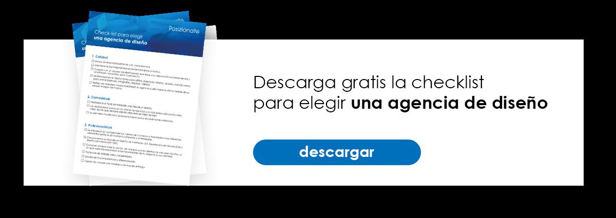 Descarga gratis la checklist para elegir una agencia de diseño