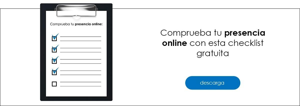 Descarga ya tu checklist de presencia online