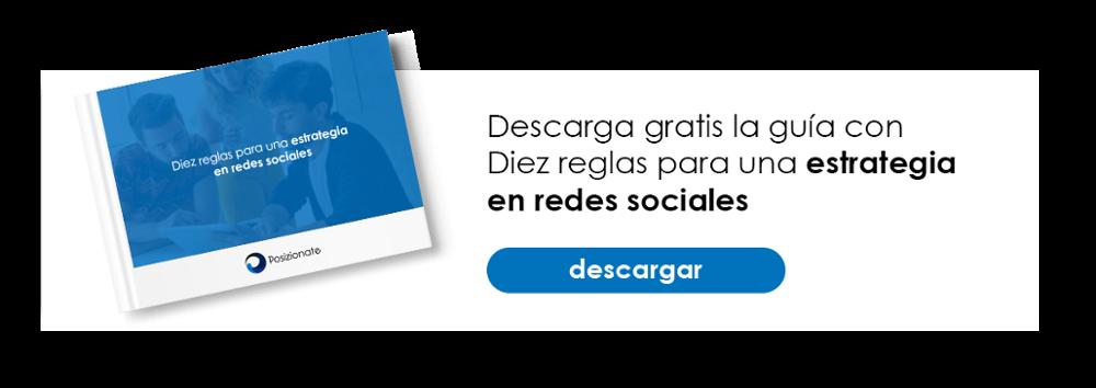 Descarga Gratis ebook 10 reglas para una estrategia en redes sociales