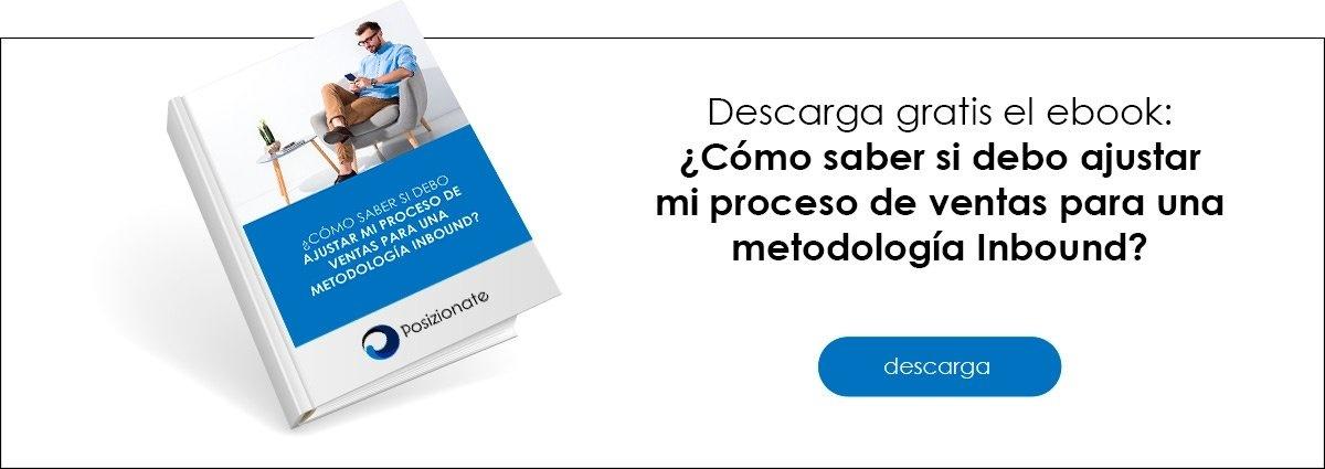 Descarga Gratis el ebook ajustar mi Proceso de Vebta a Metodologia Inbound