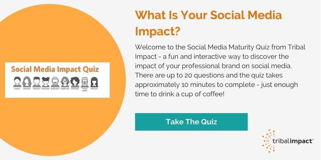 Social Media Maturity Quiz - Image CTA