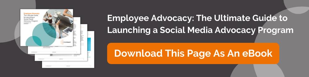 employee advocacy ebook pillar page