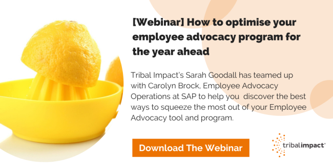 optimising employee advocacy webinar