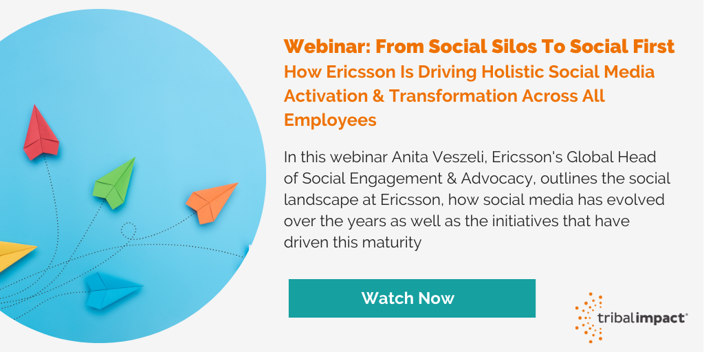 Webinar - Social Business Transformation - Ericsson Webinar