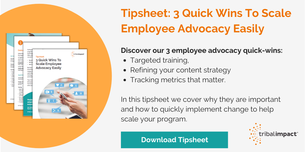 scale employee advocacy