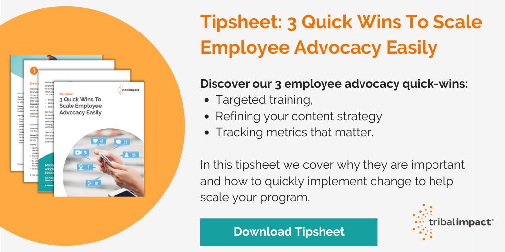 scale employee advocacy