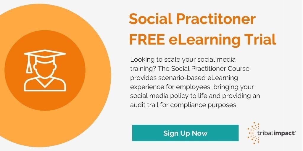 Social Practitoner Free eLearning Trial image CTA