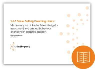 1-2-1 Social Selling Coaching Hours