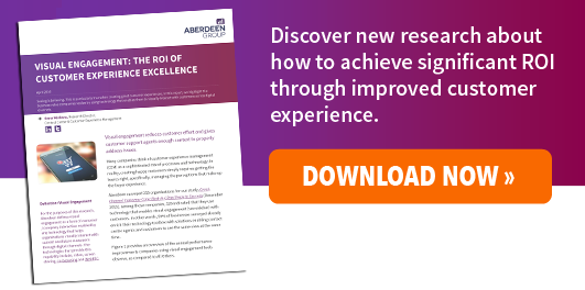 Free Ebook, Visual Engagement: The ROI of Customer Experience Excellence