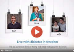 Video: Discover Cellnovo A Day in the Life of a Person with Type 1 Diabetes