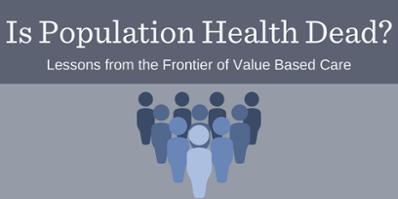 Is Population Health Dead Webinar