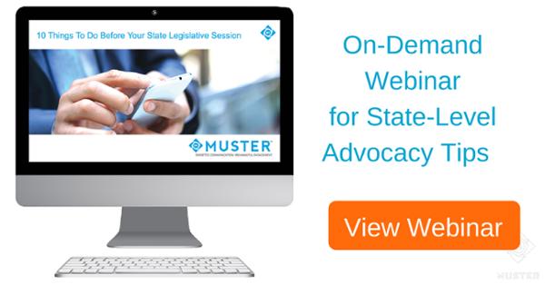 Digital Advocacy Webinar Image