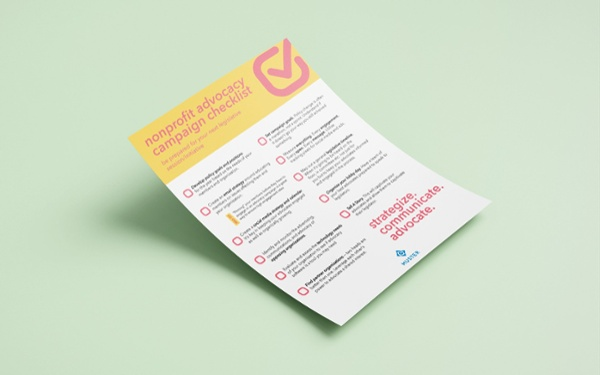 Download Muster's Free Nonprofit Advocacy Checklist