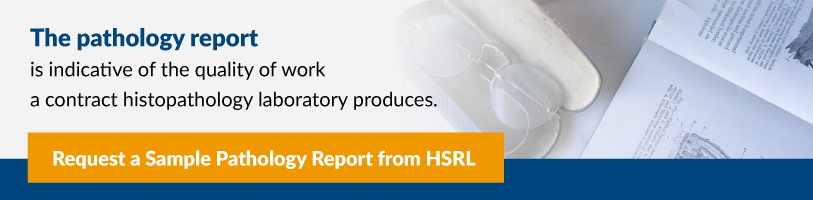 Sample Pathology Report from HSRL