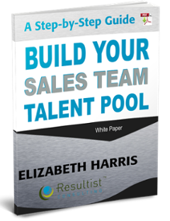 build a sales team pool of talent